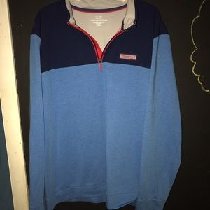 Vineyard Vines Quaterzip Sweatshirt Size XXL